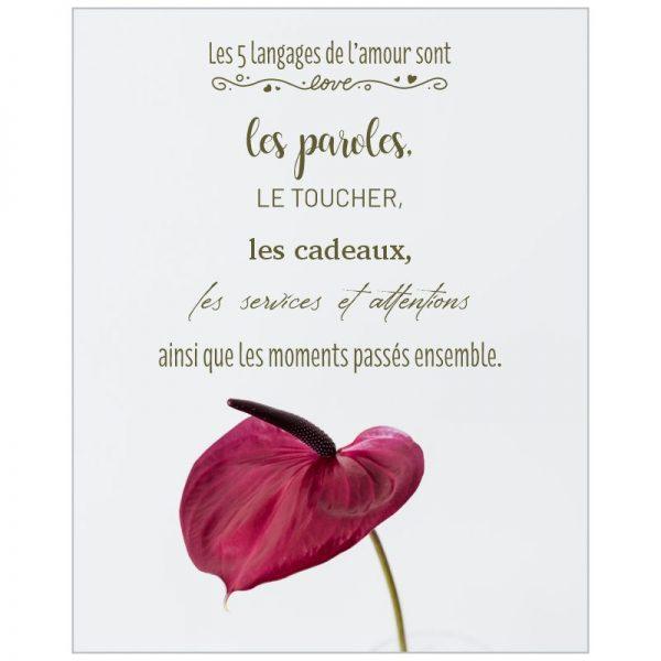 Affiche amour #3