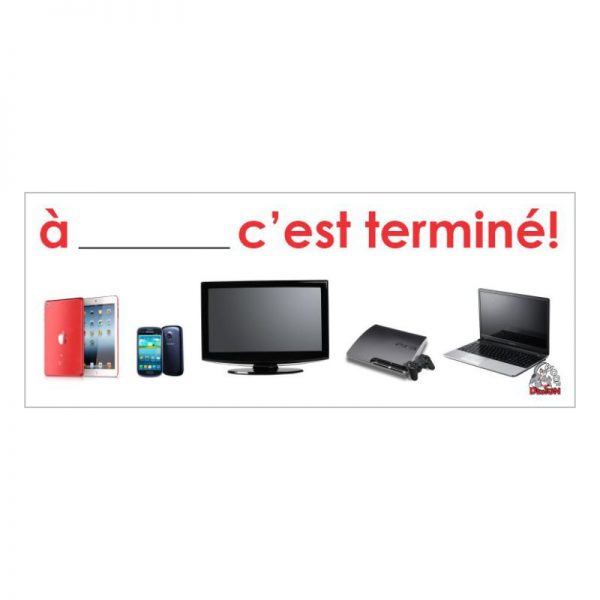 Tableau - Terminé l'électronique