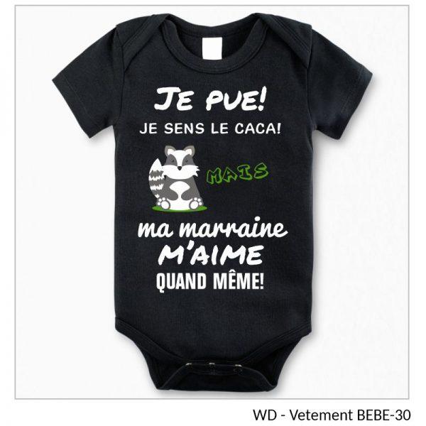 Vêtement bébé - Je pue!