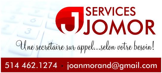 Partenaire WOOF Design - Services JOMOR