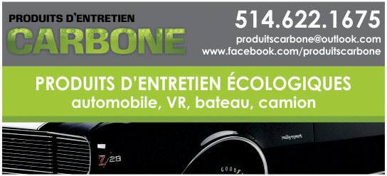 Partenaire WOOF Design - Produits Entretien CARBONE