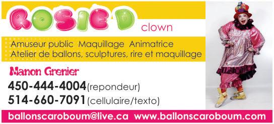 Partenaire WOOF Design - Rosie le Clown