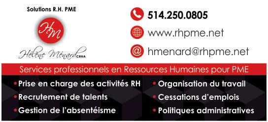 Partenaire WOOF Design - Solutions R.H. PME