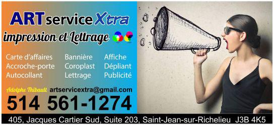 Partenaire WOOF Design - ART serviceXtra