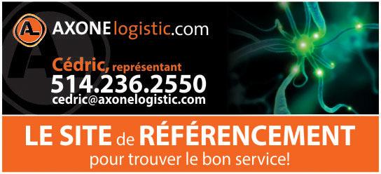 Partenaire WOOF Design - Axone Logistic