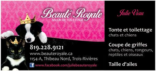 Partenaire WOOF Design - Beaute Royale