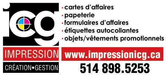 Partenaire WOOF Design - ICG impression