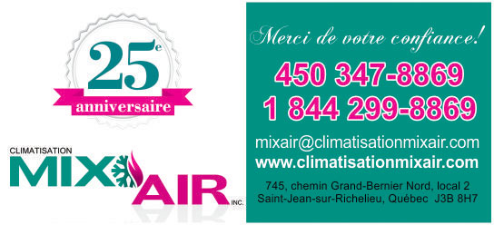 Partenaire WOOF Design - Climatisation MixAIR