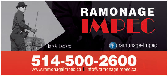 Partenaire WOOF Design - Ramonage IMPEC