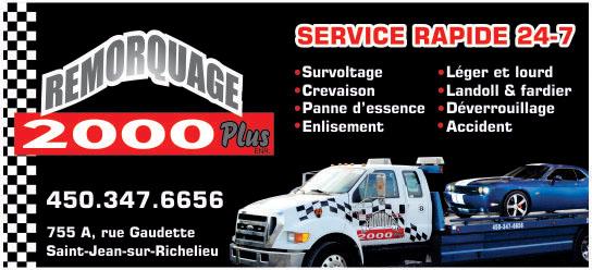 Partenaire WOOF Design - Remorquage 2000
