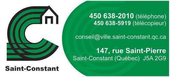 Partenaire WOOF Design - Ville de Saint-Constant